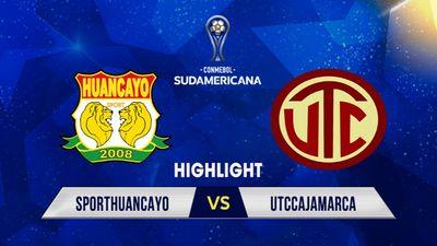 Highlights | Sporthuancayo - Utccajamarca | Giải CONMEBOL Sudamericana 2021