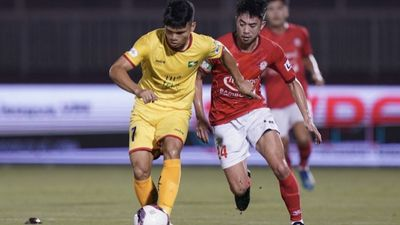 Highlights   TP. Hồ Chí Minh - SLNA   Vòng 8 -  GĐ 1 V.League 2021