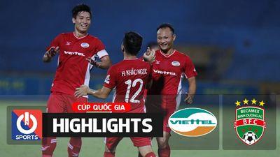 Highlights | Viettel - B. Bình Dương | Cúp Quốc Gia 2020