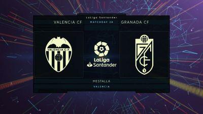 Highlights   Valencia - Granada   Vòng 28 La Liga 2020/21