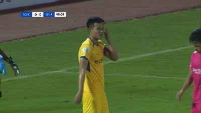 Hoàng Văn Khánh tiếp tục gắn bó với SLNA
