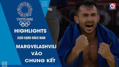 Judo - Bán kết hạng 66kg nam - Margvelashvili vào chung kết