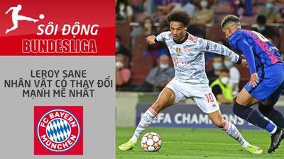 Leroy Sane - Cầu thủ có sự thay đổi mạnh mẽ nhất Bayern Munich