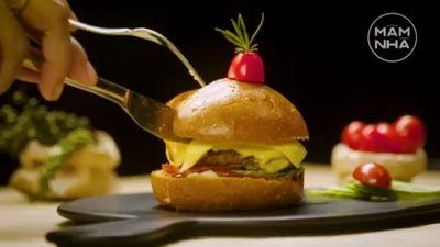 Burger Bò Chuẩn Vị