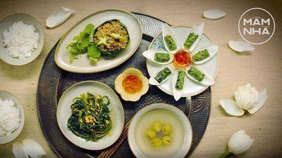 Mâm Cơm Việt 4 Món Đậm Đà Tình Thân