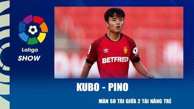 Màn so tài giữa hai tài năng trẻ Kubo - Pino | La Liga Show
