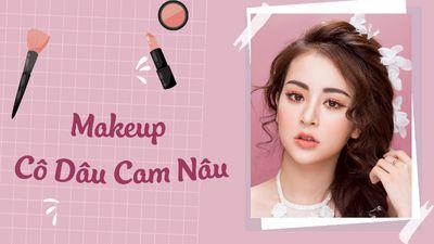 Makeup Cô Dâu Cam Nâu