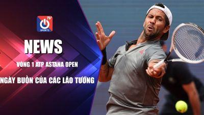 Ngày buồn của các lão tướng – Vòng 1 ATP Astana Open