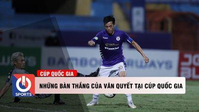 Những bàn thắng của Văn Quyết tại Cúp Quốc Gia