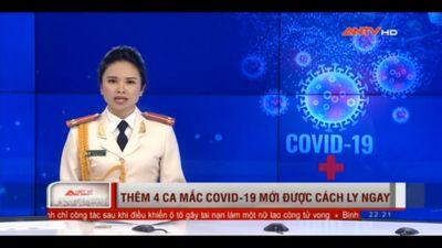 Thêm 4 Ca Mắc Covid-19 Mới Được Cách Ly Ngay