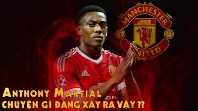 """Vì Sao Anthony Martial Không Nên Là """"Target Man"""" Của Manchester United"""
