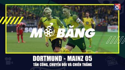 Phân tích chiến thắng của Dortmund trước Mainz 05   Mổ băng
