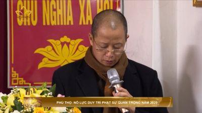 Phú Thọ: Nỗ Lực Duy Trì Phật Sự Quan Trọng Năm 2020