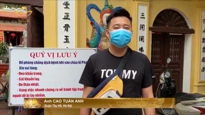 Quảng Ninh: Các Tự Viện Phật Giáo Nhiêm Túc Chống Dịch