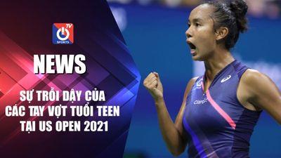 Sự trỗi dậy của các tay vợt tuổi teen tại US Open 2021