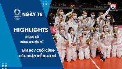 Tấm HCV cuối cùng của Đoàn thể thao Mỹ - Chung kết bóng chuyền nữ