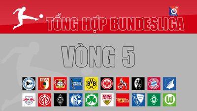 Tổng hợp vòng 5 Bundesliga 2021/22