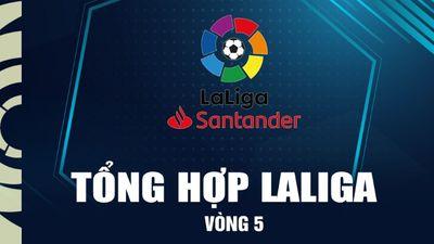 Tổng hợp vòng 5 La Liga 2021/22