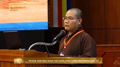TP.HCM: Khai Mạc Khóa Tập Huấn Hành Chính Văn Phòng Điện Tử
