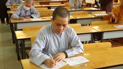 TP.HCM: Khai Mạc Kỳ Thi Tuyển Sinh Thạc Sĩ Phật Giáo