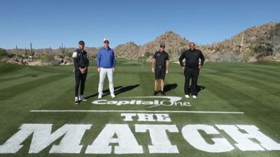 THE MATCH III: Chiến thắng cho Phil Mickelson & Charles Barkley