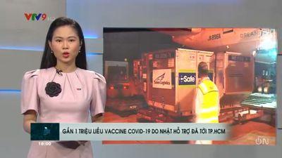 Gần 1 Triệu Liều Vaccine Covid Từ Nhật Đã Tới TP.HCM