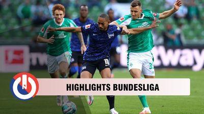 Vòng 1 Bundesliga: Bremen 1-4 Hertha Berlin