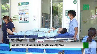 3 Cơ Sở Y Tế Tiếp Nhận Bệnh Nhân Từ BVĐK Dức Giang