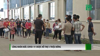 Công Nhân Mắc Covid-19 Đước Hỗ Trợ 3 Triệu Đồng