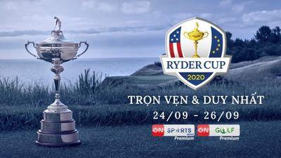 VTVcab Độc Quyền Phát Sóng Ryder Cup 2020