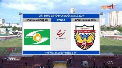 SLNA vs HL Hà Tĩnh: V - League 2020 Vòng 9