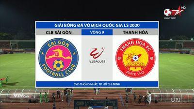 Sài Gòn - Thanh Hoá: V - League 2020 Vòng 9