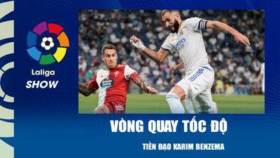 Vòng quay tốc độ - Karim Benzema | La Liga Show