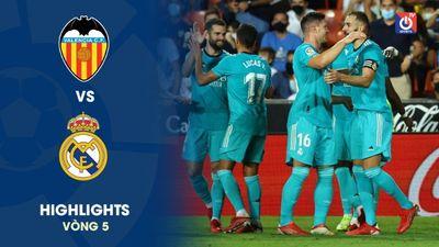 Valencia - Real Madrid - V5 - La Liga
