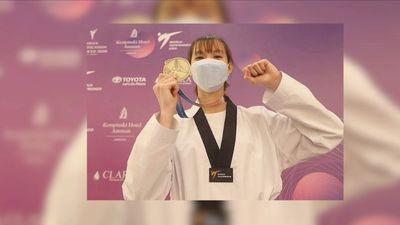 Võ sĩ Trương Thị Kim Tuyền giành huy chương vàng