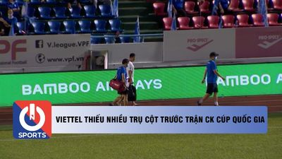 Viettel thiếu nhiều trụ cột trước trận CK Cúp Quốc Gia