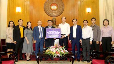 VFF và HLV Park Hang Seo ủng hộ đồng bào miền Trung